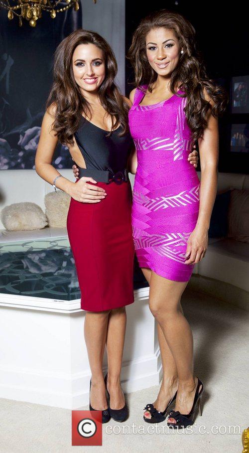 Nadia Forde, Layla Flaherty Celebrity Salon 2012...