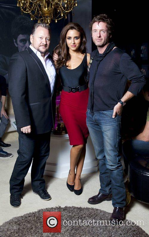 Stephen McCormack, Nadia Forde, John Norton Celebrity Salon...
