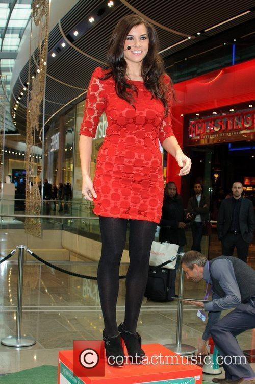 Imogen Thomas and Westfield Shopping Centre 12