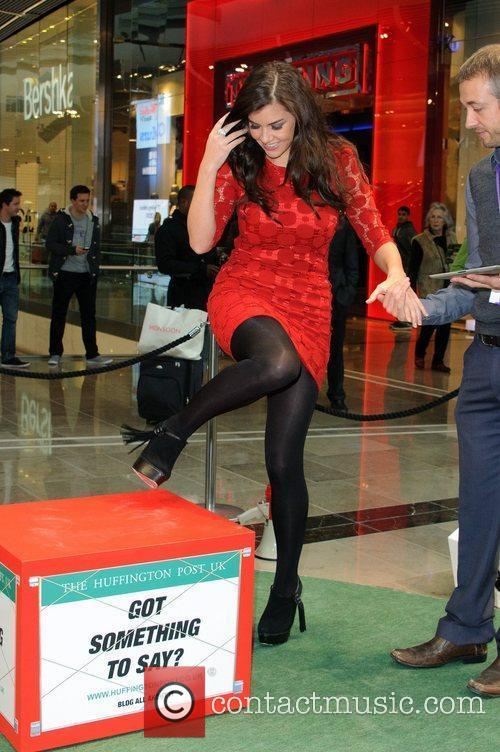 Imogen Thomas and Westfield Shopping Centre 1