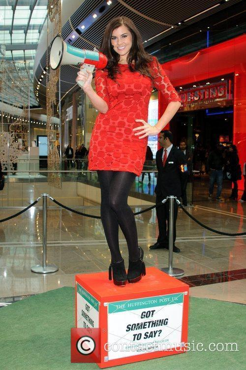 Imogen Thomas and Westfield Shopping Centre 8