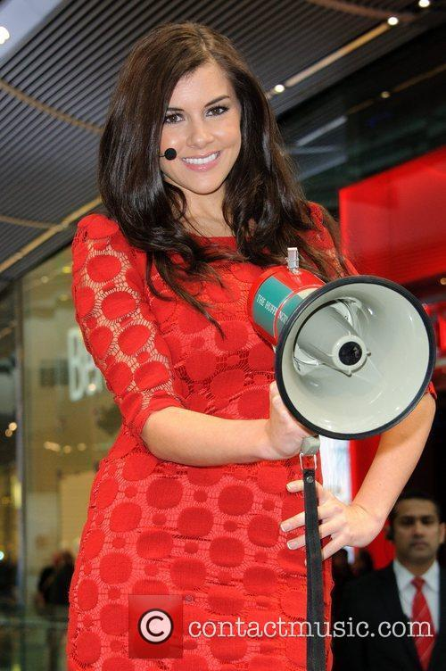 Imogen Thomas and Westfield Shopping Centre 11