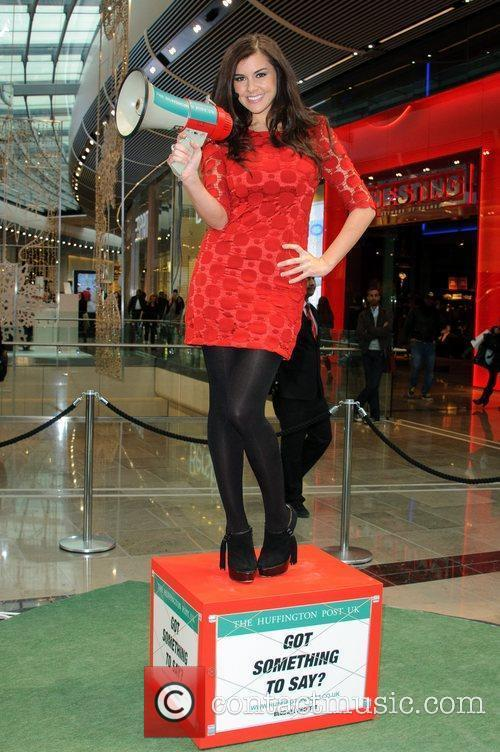 Imogen Thomas and Westfield Shopping Centre 10