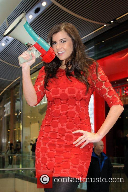Imogen Thomas and Westfield Shopping Centre 3