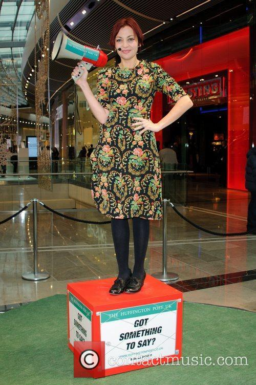 Pearl Lowe and Westfield Shopping Centre 1