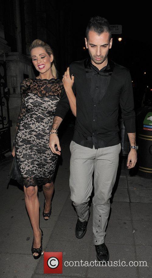 Nicola McLean leaving Aura nightclub appearing rather worse...