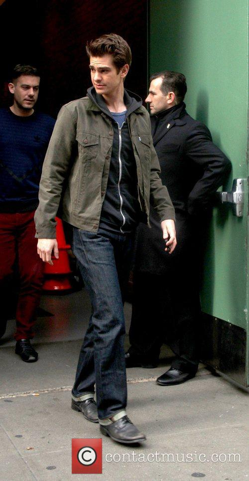 Seen arriving at ABC Studios for 'Good Morning...