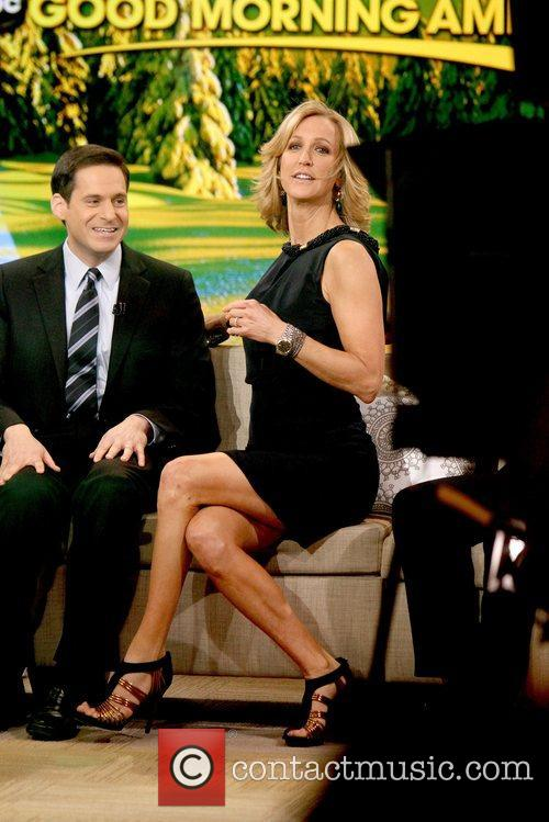 Lara Spencer and Abc Studios 6