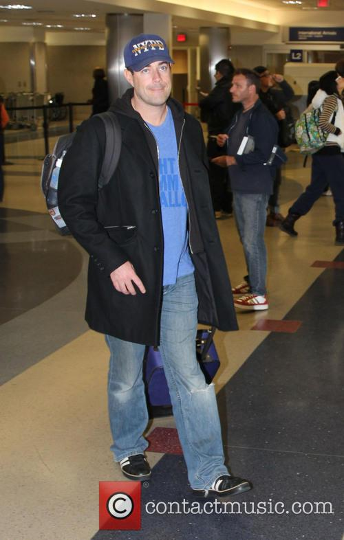 Carson Daley Celebrities at LAX airport  Featuring:...