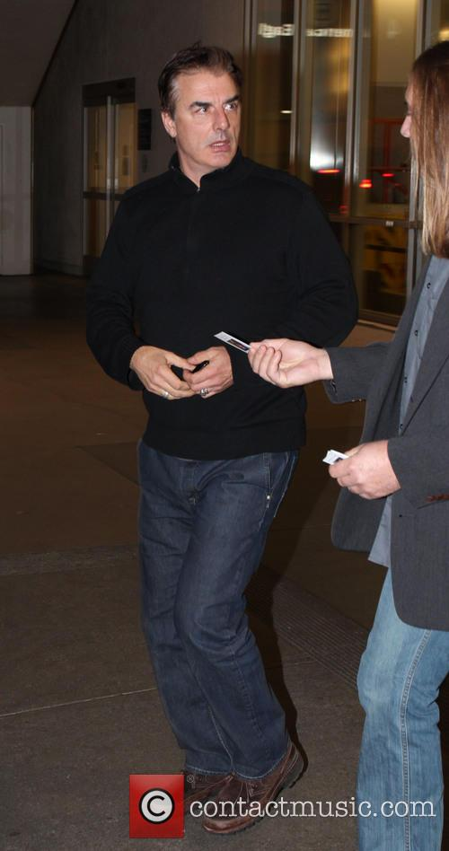 Chris Noth Celebrities at LAX airport  Featuring:...