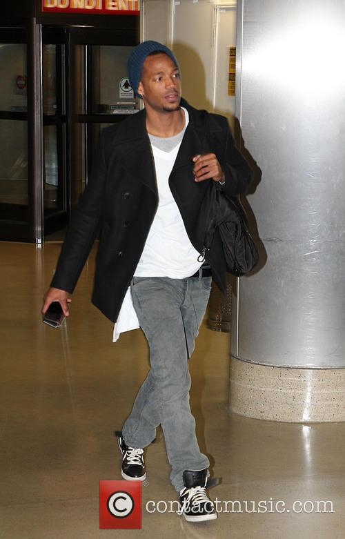 Damon Wayans Celebrities at LAX airport  Featuring:...