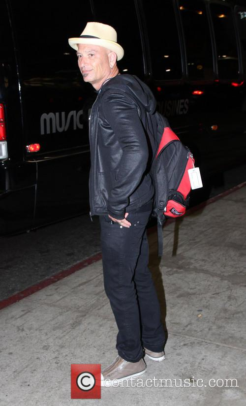 Howie Mandel Celebrities at LAX airport  Featuring:...