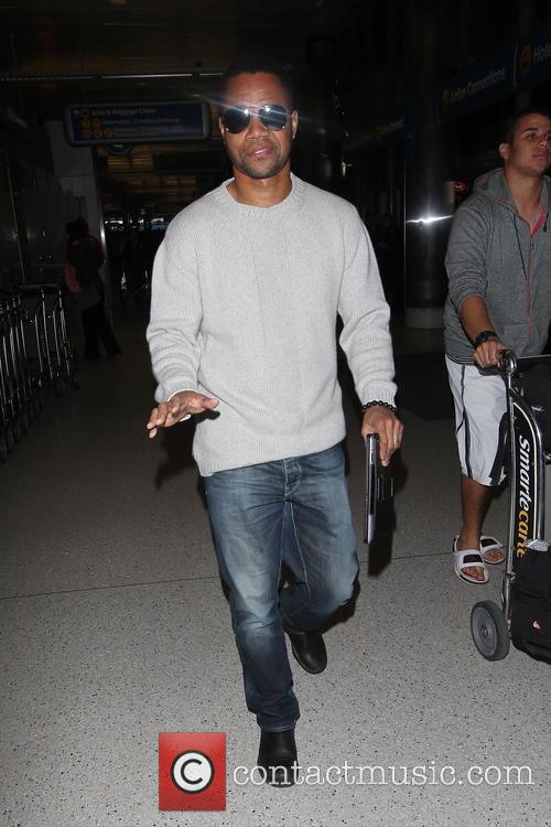 Celebrities arrive at Los Angeles International Airport (LAX)