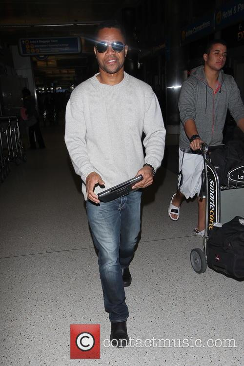 cuba gooding jr celebrities arrive at los 20051666
