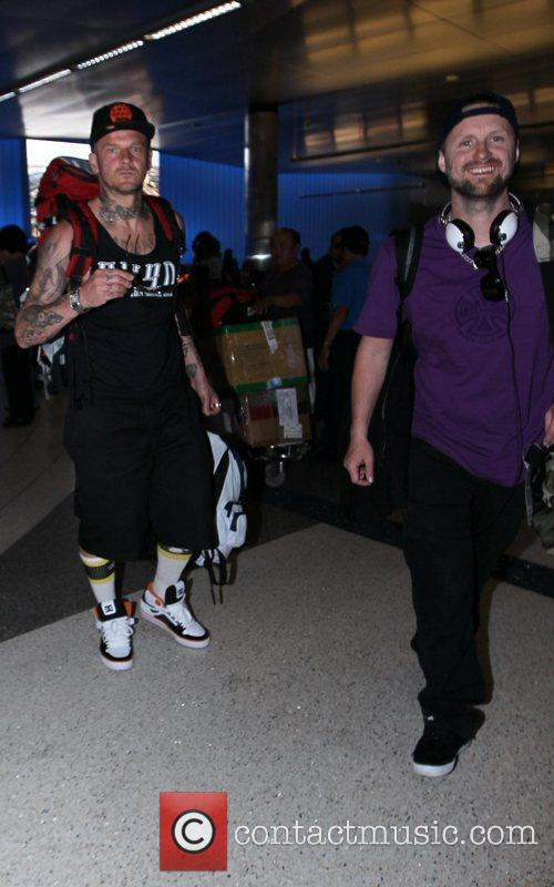 Celebrities seen at LAX airport
