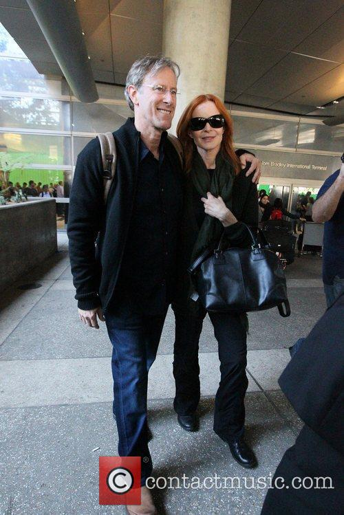 Marcia Cross and Tom Mahoney 1