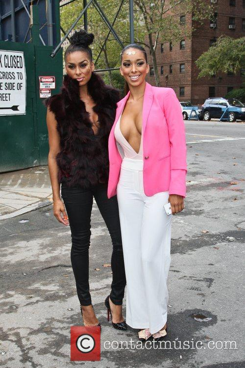 Gloria and Laura Govan Mercedes-Benz New York Fashion...