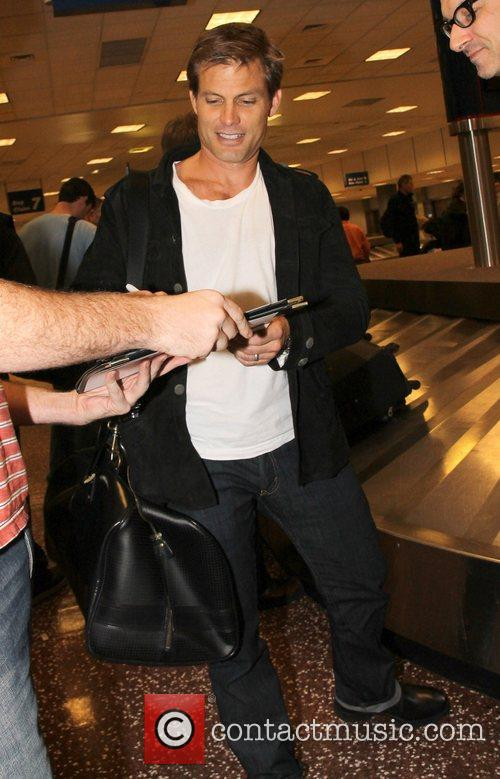 Casper Van Dien Celebrities arrive at Salt Lake...