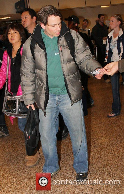 Chris Kattan Celebrities arrive at Salt Lake City...