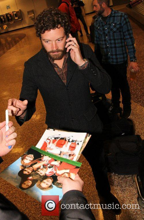 Danny Masterson Celebrities arrive at Salt Lake City...