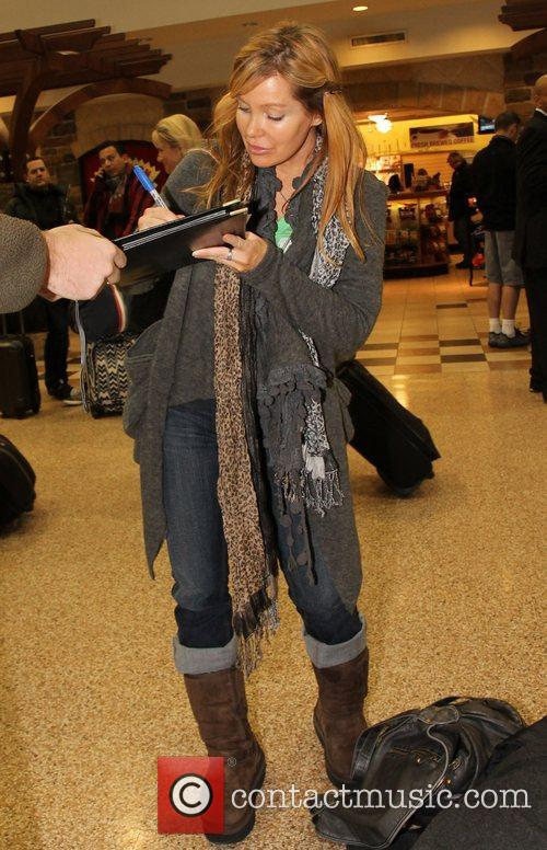 Holly Fields Celebrities arrive at Salt Lake City...