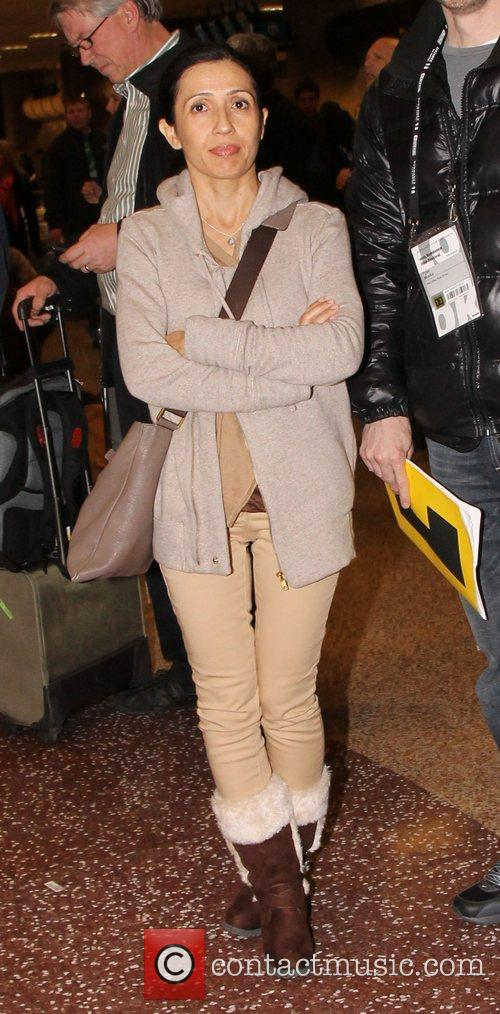 Fatana Nawabi Celebrities arrive at Salt Lake City...