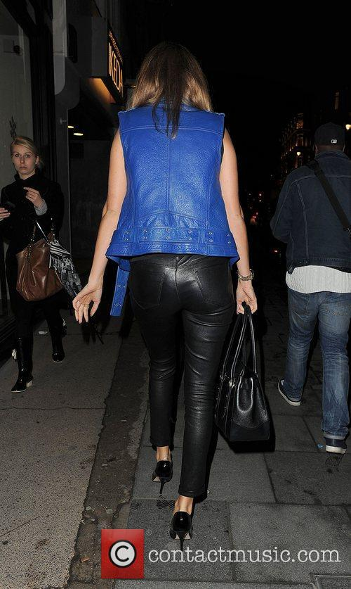 Millie Mackintosh leaves the opening of new store...