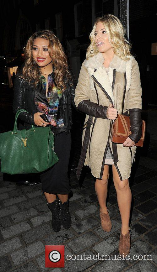 Vanessa White, Mollie King, The Saturdays and Supertrash 7