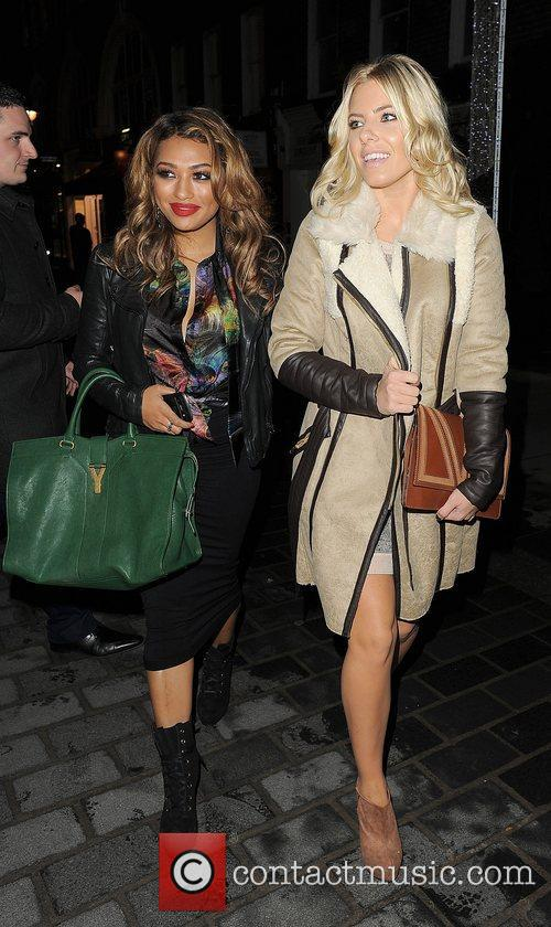Vanessa White, Mollie King, The Saturdays and Supertrash 6