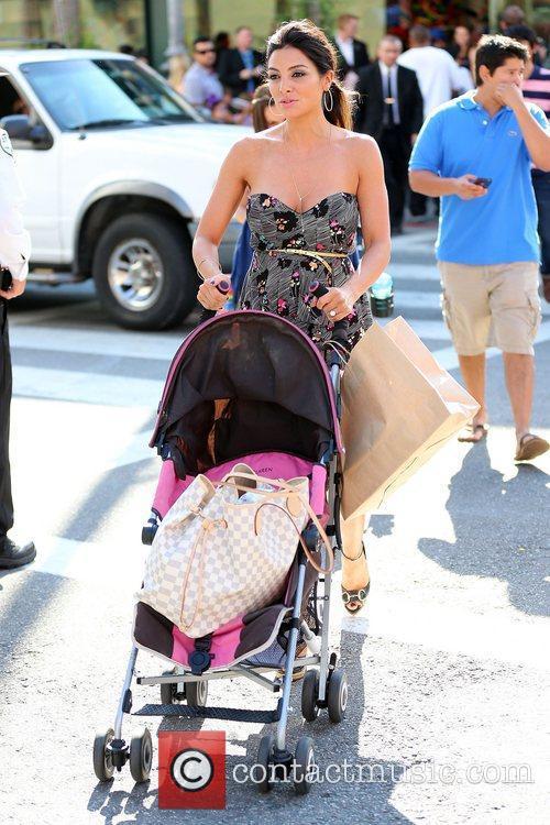 Mario Lopez holding daughter Gia Francesca Lopez