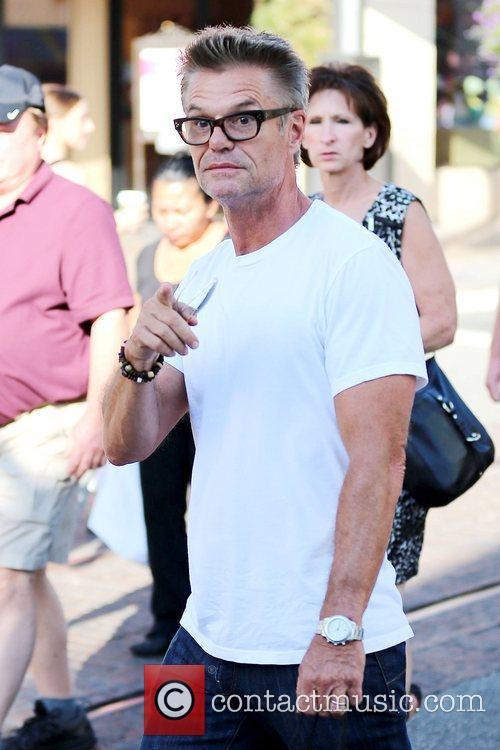 Harry Hamlin Celebrities out and about at The...