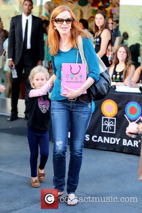 Marcia Cross and her daughter Eden Mahoney Celebrities...