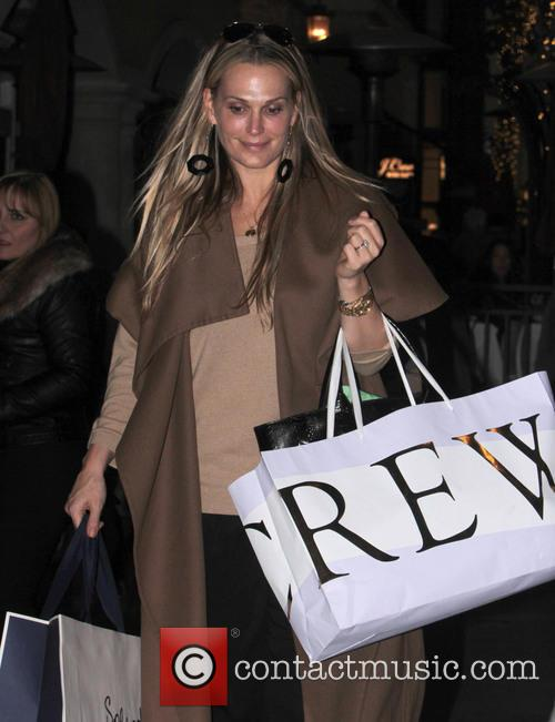Molly Sims Celebrities at The Grove  Featuring:...