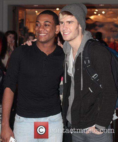 Colton Dixon and Joshua Ledet shop at The...