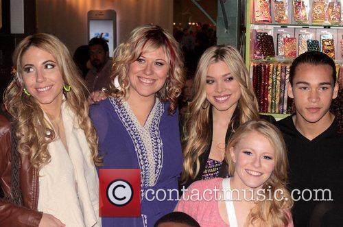 Erika Van Pelt, Elise Testone, Deandre Brackensick and...