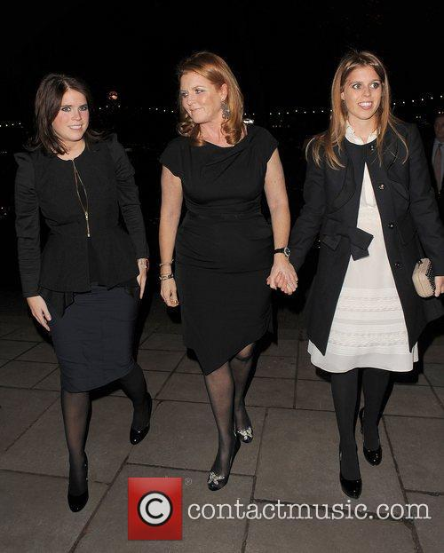 Princess Eugenie, Sarah Ferguson and Princess Beatrice 2