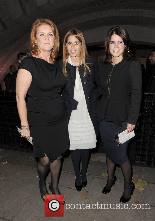 Sarah Ferguson, Princess Beatrice, Princess Eugenie