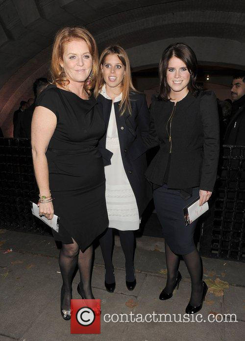 Sarah Ferguson, Princess Beatrice and Princess Eugenie. Valentino:...