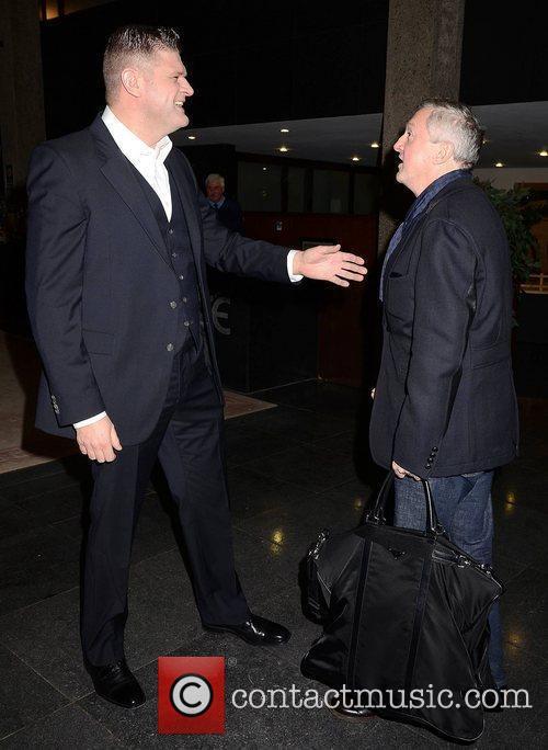 Brendan O'Connor, Louis Walsh at the Brendan O'Connor...
