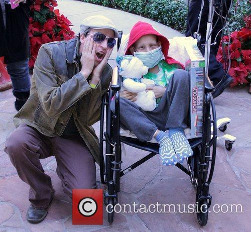 Celebrities attend Britticares Toy Drive at Children's Hospital