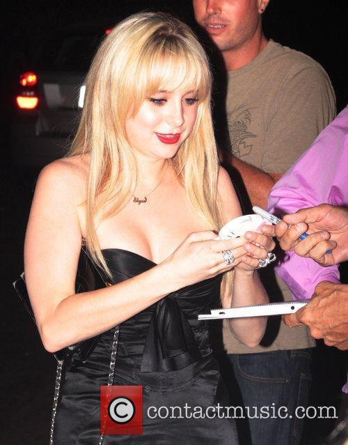 Alessandra Torresani leaving Chateau Marmont in West Hollywood...