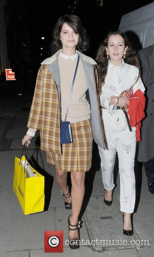 Pixie Geldof leaving the Designer Pudsey Collection 2012,...
