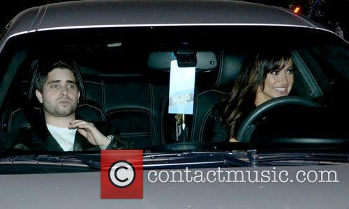 Karina Smirnoff  driving with a friend outside...