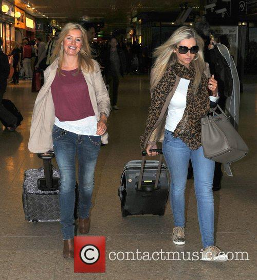 Alex Fletcher and Gemma Merna arrive at Euston...