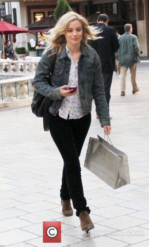 Gillian Jacobs out shopping at The Grove in...