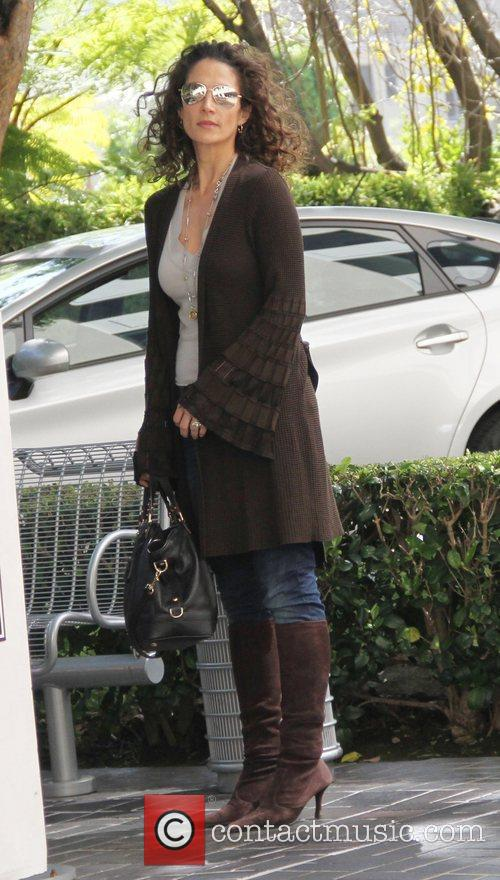 Melina Kanakaredes out and about in Beverly Hills...