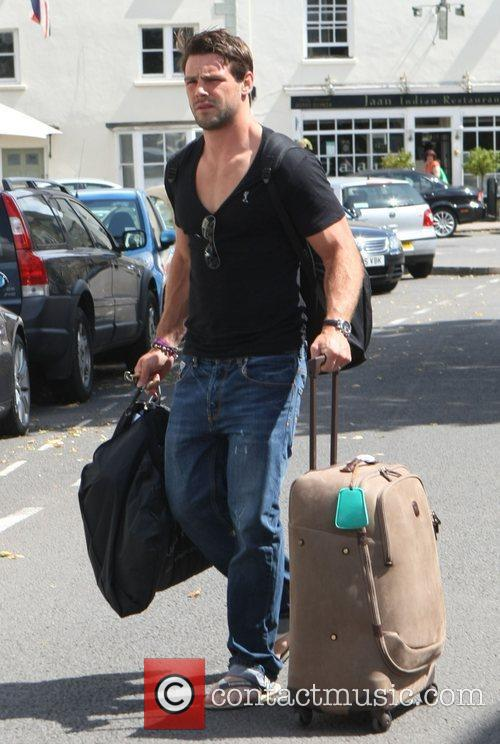 Ben Folden leaving his hotel after attending the...
