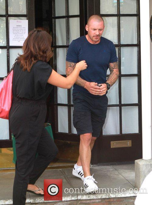 Guest Celebrities leaving their hotel after attending the...