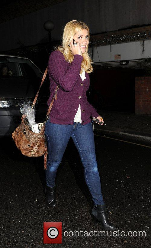 Holly Willoughby and Riverside Studios 3