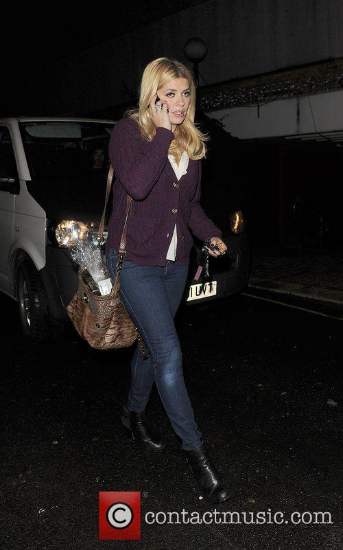 Holly Willoughby and Riverside Studios 4